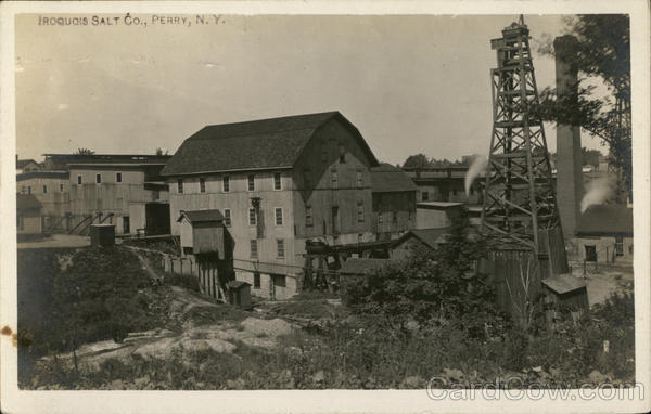 Iroquois Salt Company Perry New York