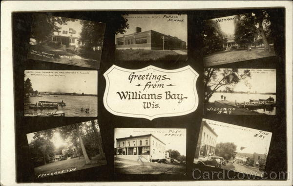 Collage of Pictures Williams Bay Wisconsin