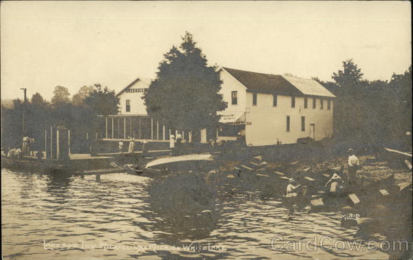 Lakeside Inn Michillinda on White Lake Whitehall Michigan