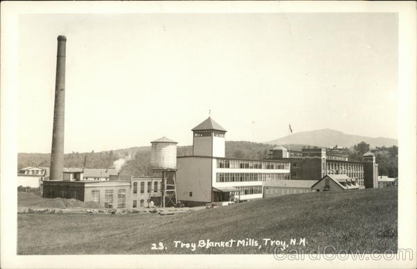 Troy Blanket Mills New Hampshire