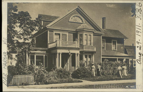 Historic Home in Bar Harbor, Maine