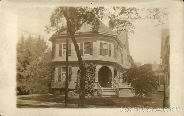 196 Waterman Street. March 1914 Providence Rhode Island