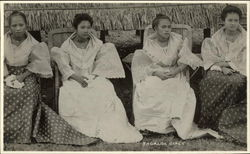 Tagalog Girls in Dress