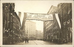 IWW Labor Union Protest Banner
