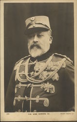 Portrait of H.M. King Edward VII in Military Wear
