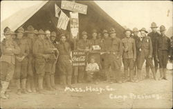 Mass. Hospital Company Camp Pershing