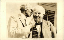 Henry Ford and Thomas A. Edison