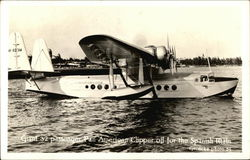 Giant 32 Passenger Pan-American Clipper (NR-823M) off for the Spanish Main