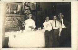 Men Drinking at a Bar - Welch's, Hires, Moxie Advertising