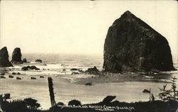 Haystack Rock and Needles Cannon Beach