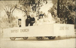 Baptist Church Parade Float in June 1842
