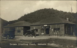 Totem Trading Post, Gas Pumps