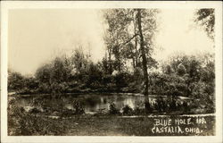 The Blue Hole Postcard