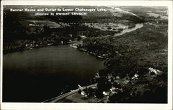 Banner House and Outlet to Lower Chateaugay Lake