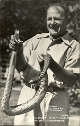 Florida Rattler and Handler