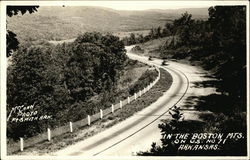 In the Boston Mountains on U.S. 71 Postcard
