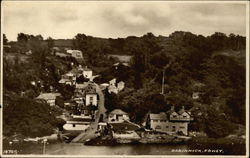 View of Town and River Fowey