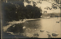 Bathing Beach in West Point, NE 1924
