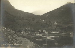 View of Merok, Sondmor in Norway