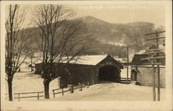 Long Covered Bridge Postcard