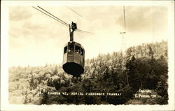 Aerial Passenger Tramway at Cannon Mountain in 1938