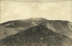 Mt. Lafayette from Artists' Bluff, Franconia Notch