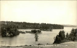 The Cove Lake Thompson Postcard