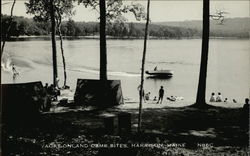 Vacationland Camp Sites on Lake