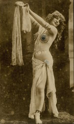 Belly Dancing Risque Woman