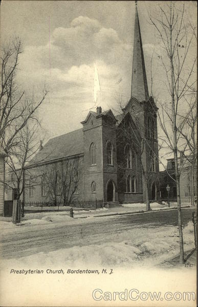 Presbyterian Church Bordentown New Jersey