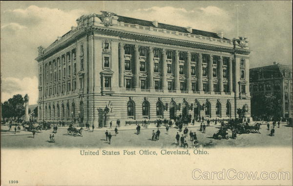 Cleveland (OH) United States  City new picture : United States Post Office Cleveland, OH Postcard