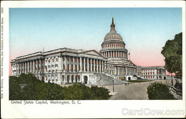 United States Capitol Washington District of Columbia