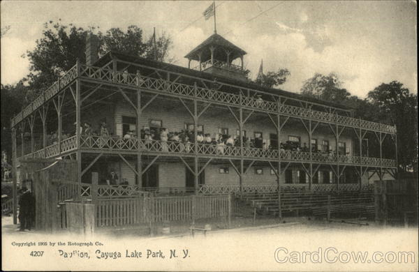Pavillion, Cayuga Lake Park New York