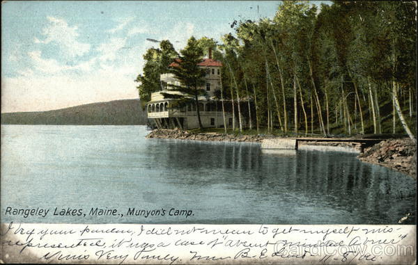 Munyon's Camp Rangeley Lakes Maine