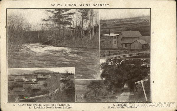 South Union, Maine, Scenery