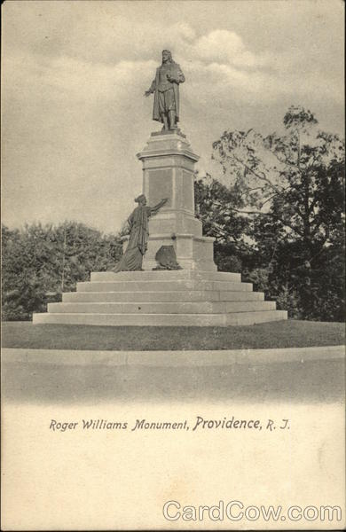 Roger Williams Monument Providence Rhode Island