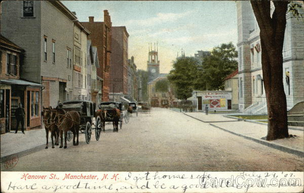 Hanover St. Manchester New Hampshire