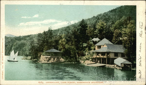 Undercliff Lake Placid New York