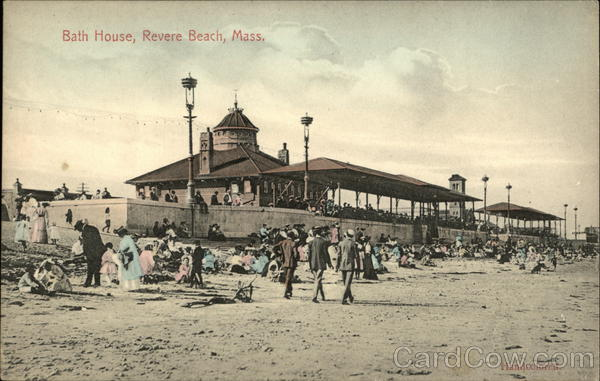 Bath House Revere Beach Massachusetts