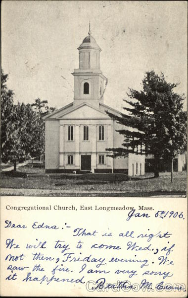 Congregational Church East Longmeadow Massachusetts