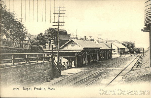 Railway Depot Franklin Massachusetts Depots