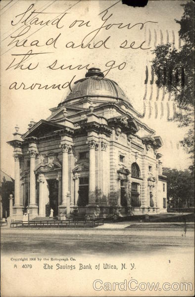 The Savings Bank Utica New York