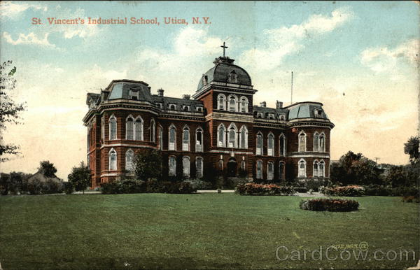 St Vincent's Industrial School Utica New York