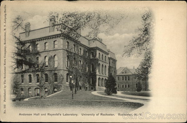 University of Rochester - Anderson Hall and Reynold's Laboratory New York