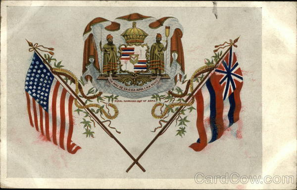 Royal Hawaiian Coat of Arms State Flowers & Seals