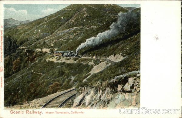 Scenic Railway, Mt. Tamalpais Mount Tamalpais California