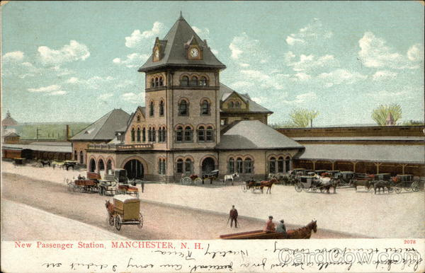 New Passenger Station Manchester New Hampshire
