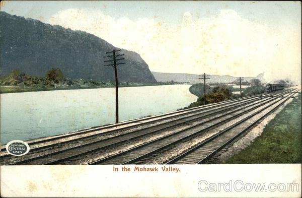 In The Mohawk Valley, New York Central Lines Railroad (Scenic)