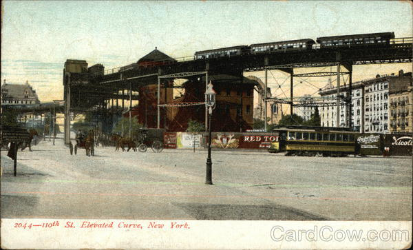 10th Street Elevated Curve New York