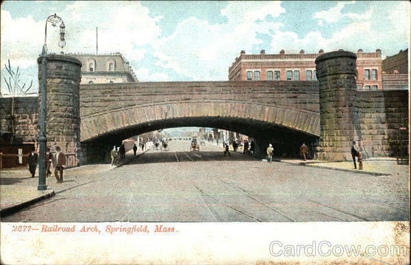 Railroad Arch Springfield Massachusetts